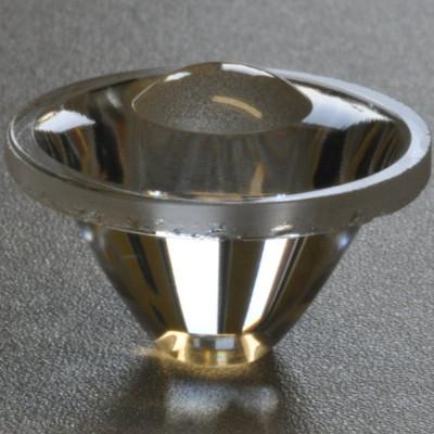 Čočka pro malé LED, vyzařovací úhel 10°.